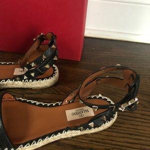 Valentino Shoes - NWT Valentino Rockstud espadrilles